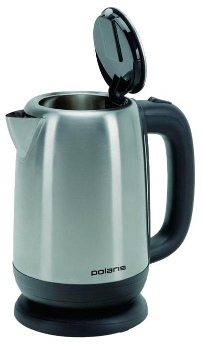 Чайник электрический Polaris PWK 1793CA 1.7л. 2200Вт серебристый матовый (корпус: нержавеющая сталь) чайник polaris pwk 1749ca 2200 вт бордовый 1 7 л нержавеющая сталь
