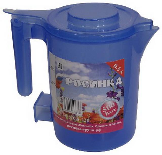 Чайник Росинка ЭЧ-0,5/0,5-220 синий