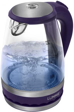 Чайник LUMME LU-220 темный топаз 2200 Вт, 1.8 л, стекло