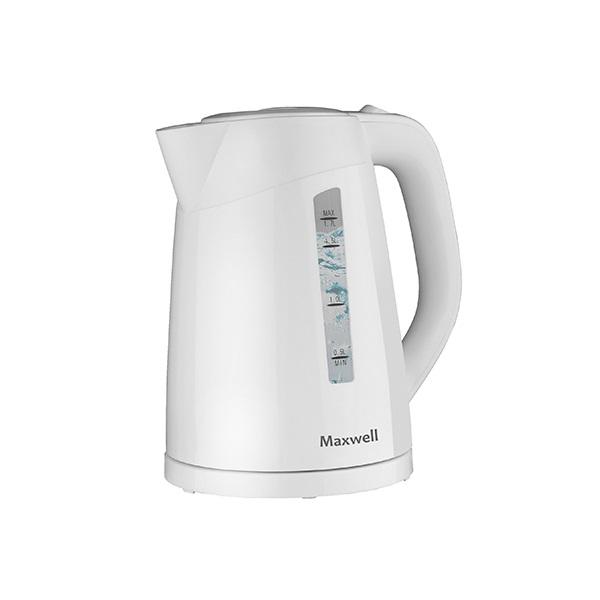Чайник Maxwell MW-1097 белый 2200 Вт, 1.7 л, пластик