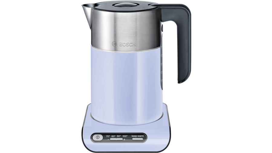 Чайник Bosch TWK8619P голубой 2400 Вт, 1.5 л, пластик/металл bosch twk 8611 p styline