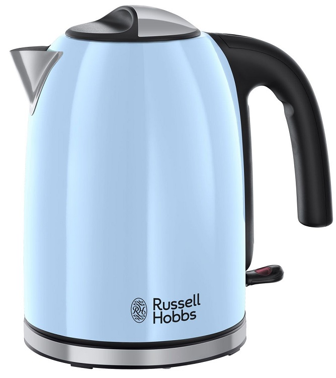 все цены на Чайник Russell Hobbs 20417-70 Colours Plus Нeavenly Blue онлайн