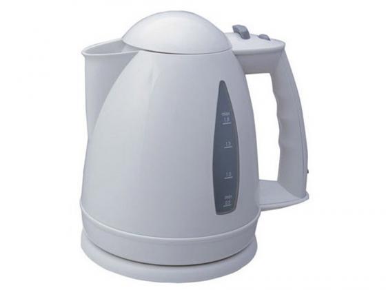Чайник VES Electric 1116 2000 Вт 1.7 л пластик белый чайник ves 2000 g