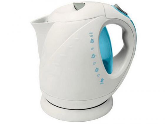 Чайник VES Electric 1008 2000 Вт 2 л пластик белый цена