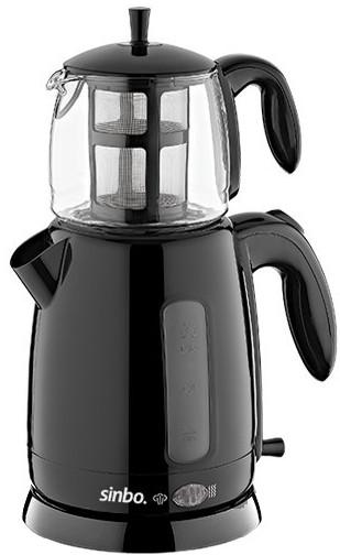 Картинка для Чайный набор Sinbo STM 5700 2000Вт, 1.7л, пластик, черный