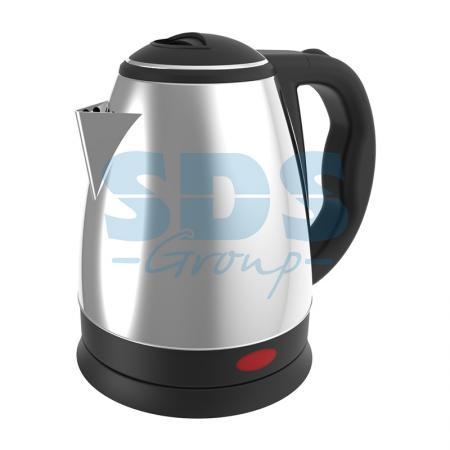Чайник электрический DX3015 1,5 л/1850 Вт; нержавеющая сталь чайник dux dxk 601 brown 60 0706 page 8