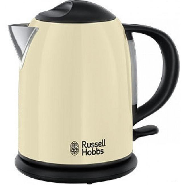 Чайник Russell Hobbs 20194-70 бежевый 2200Вт, 1,7л, сталь цена