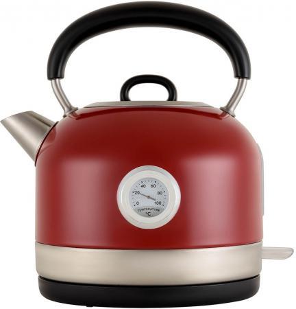 Чайник электрический Polaris PWK 1757CA 1.7л. 2200Вт красный (корпус: сталь) электрический самокат polaris pes 0808