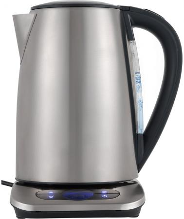 Чайник электрический Polaris PWK 1788CAD серебристый 1.7л, 2200 Вт, корпус: нержавеющая сталь чайник электрический ладомир 102 2000 вт серебристый 1 2 л нержавеющая сталь
