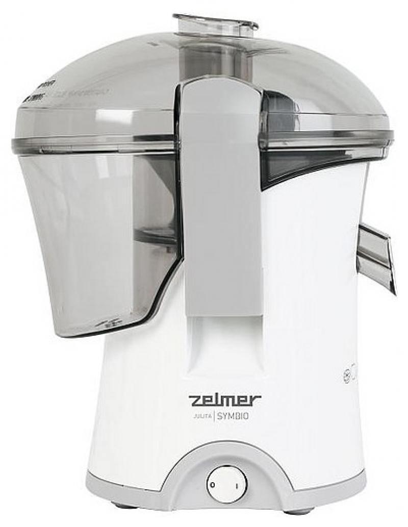 Соковыжималка Zelmer ZJE0800DRU 800 Вт белый зелёный 377 ED