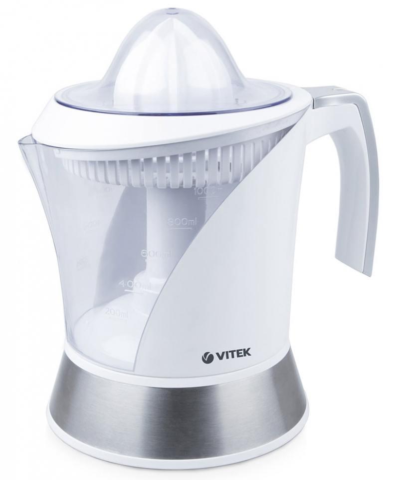 Соковыжималка Vitek VT-3654-W 40 Вт белый соковыжималка vitek vt 3654 w