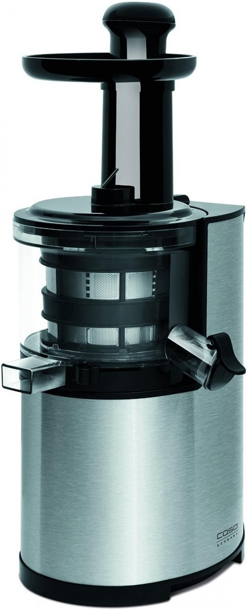 Соковыжималка CASO SJ 200 200 Вт серебристый чёрный