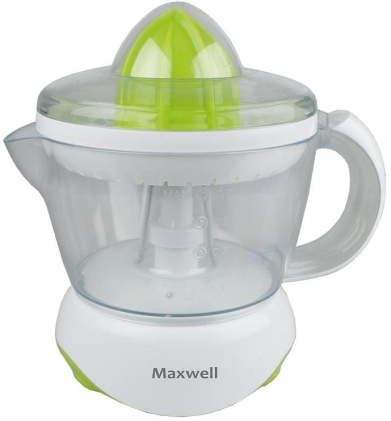 Соковыжималка Maxwell MW-1107 G 25 Вт зелёный цена и фото
