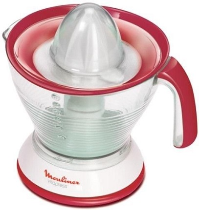 Соковыжималка Moulinex PC302B10 25 Вт белый красный соковыжималка moulinex ju655h30 1200 вт серебристый