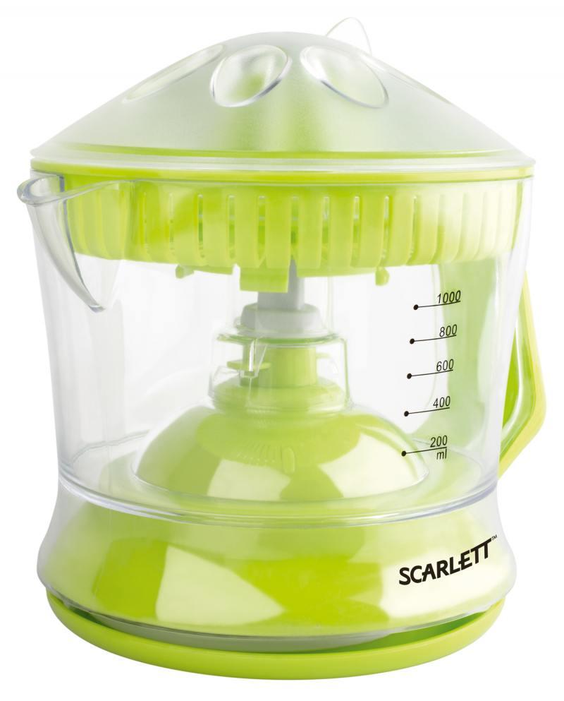 Соковыжималка Scarlett SC-JE50C04 40 Вт зелёный