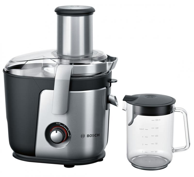 Соковыжималка Bosch MES4010 1200 Вт серебристый соковыжималка moulinex ju655h30 1200 вт серебристый