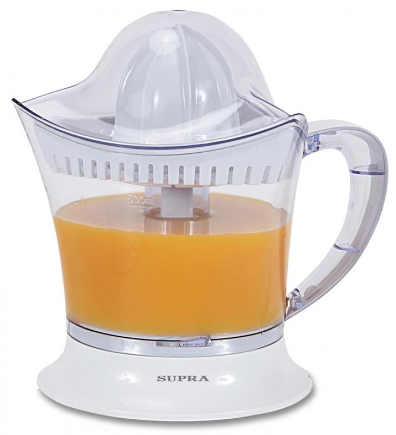 Соковыжималка Supra JES-1024 25 Вт белый цена и фото