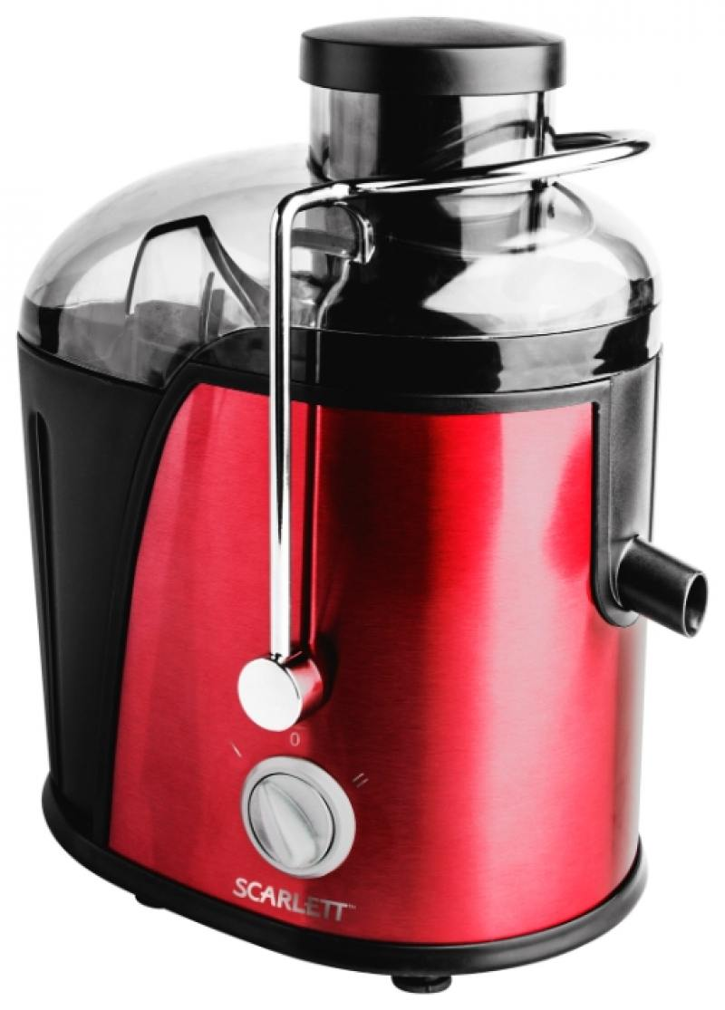 Соковыжималка Scarlett SC-JE50S15 850 Вт красный соковыжималка для цитрусовых scarlett sc je50c03