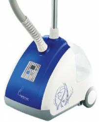 Отпариватель Endever ODYSSEY Q-503, для одежды, мощность 1500W, напряжение 220-240V, емкость бака 2500 мл, LED дисплей, цвет корпуса синий/белый от OLDI