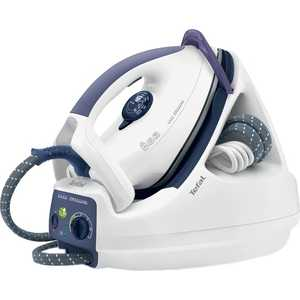 Парогенератор Tefal GV 5245E0 Easy Pressing 2135Вт,под.UltraGliss Diffusion,4,5 бар,п/п 90 г/мин,в/п,син./белый tefal gv5246 easy pressing парогенератор