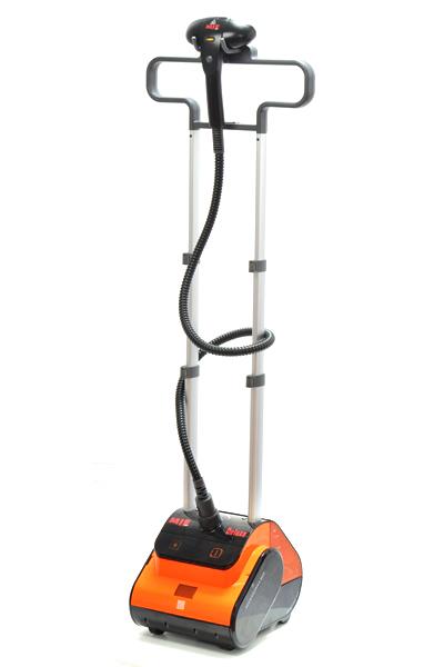 Отпариватель MIE Deluxe черно-оранжевый 2600Вт, Бак 2.5л, Пар 85гр/мин mie deluxe
