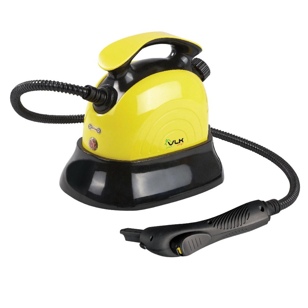 Универсальный отпариватель-пароочиститель VLK Sorento 8200, черно-желтый