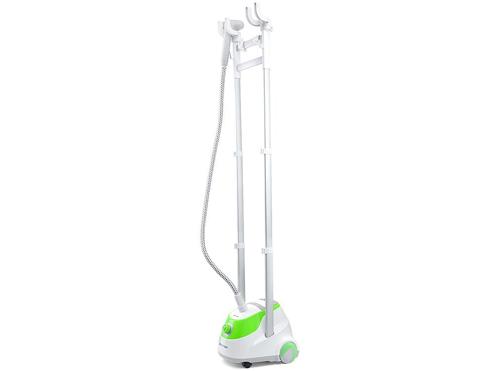 Отпариватель Kitfort КТ-926 1800Вт белый/зеленый фритюрница kitfort кт 2018