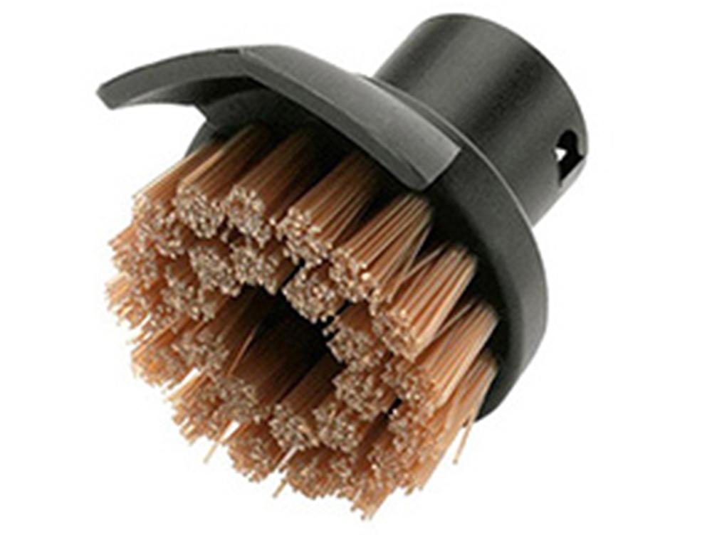 Аксессуар для пароочистителей Karcher, круглая щетка со скребком комплектующие и аксессуары для пароочистителей