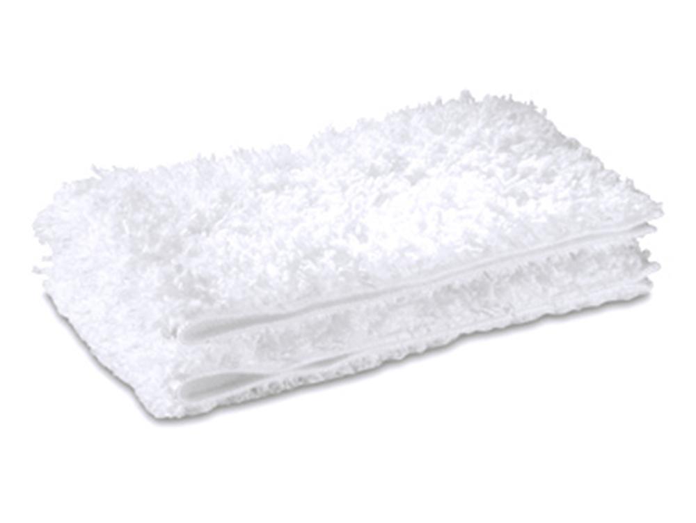 Аксессуар для пароочистителей Karcher, набор салфеток Steam+Clean Floor, для полов (2шт)