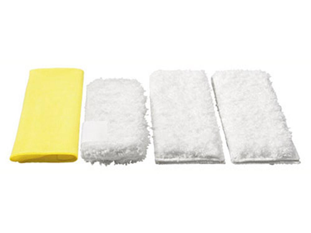 Аксессуар для пароочистителей Karcher, набор салфеток для кухни 4 шт комплектующие и аксессуары для пароочистителей
