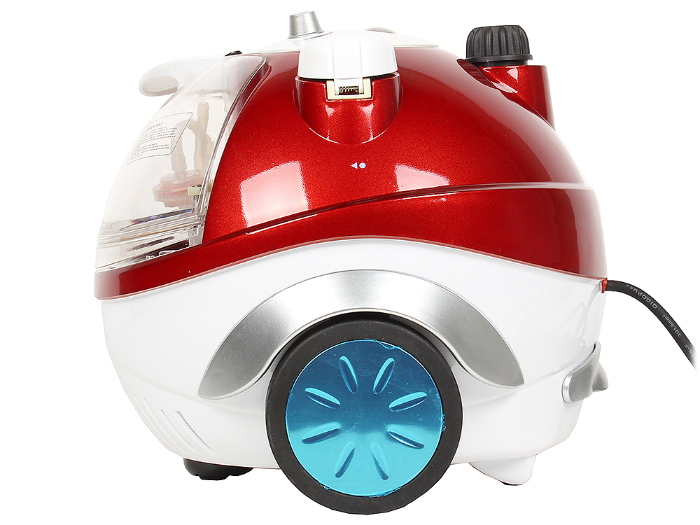 цена на Отпариватель Grand Master GM-Q5 Multi R, красный 1950Вт, бак 2.3л, пар 70г/мин, пар 3.5 бар