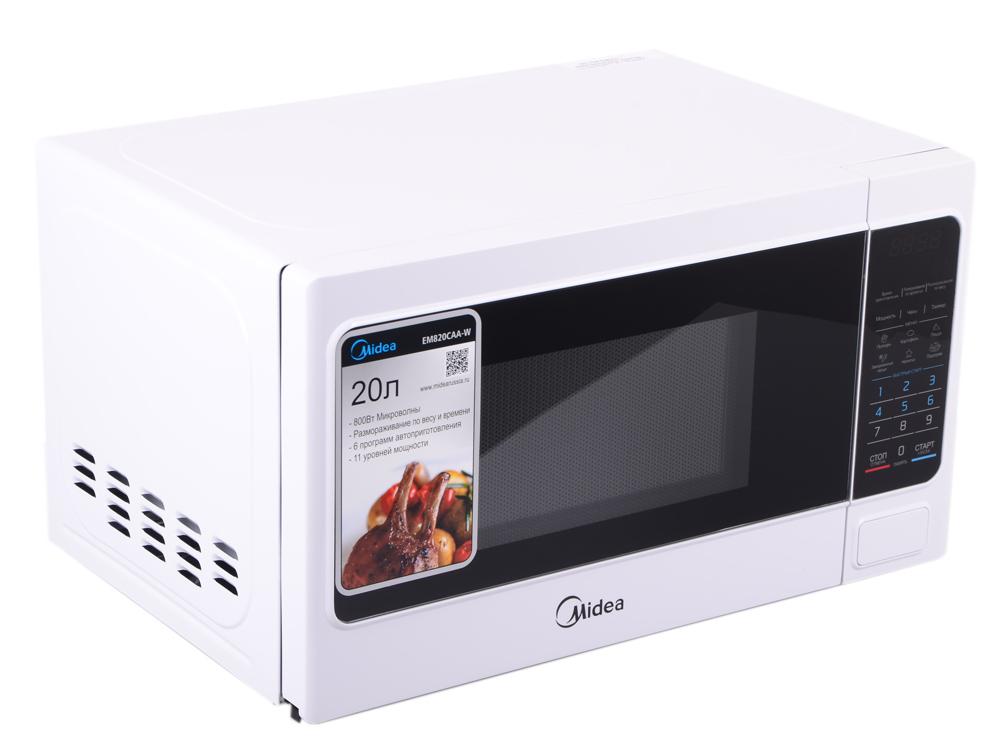 Микроволновая печь MIDEA EM820CAA-W электрическая плита лысьва эп 301 wh