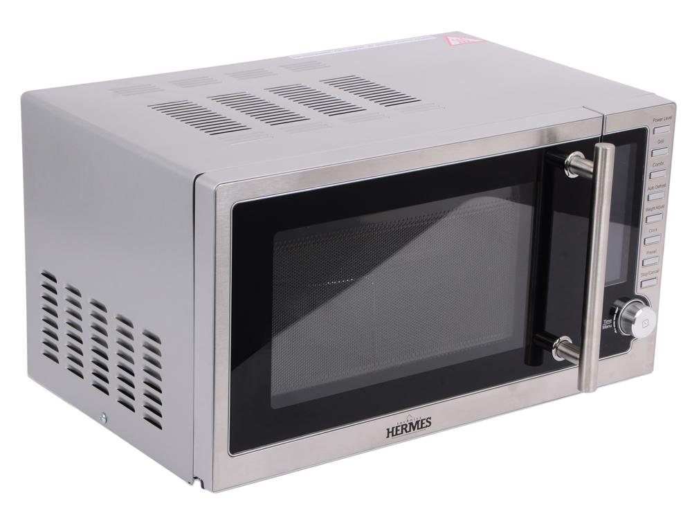 Микроволновая печь Hermes Technics HT-MW405M 700 Вт серебристый микроволновая печь bbk 23mws 927m w 900 вт белый