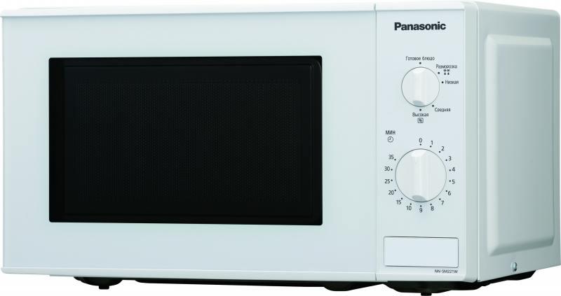 Микроволновая печь Panasonic NN-SM221WZTE 700 Вт белый микроволновая печь panasonic nn gd382szpe