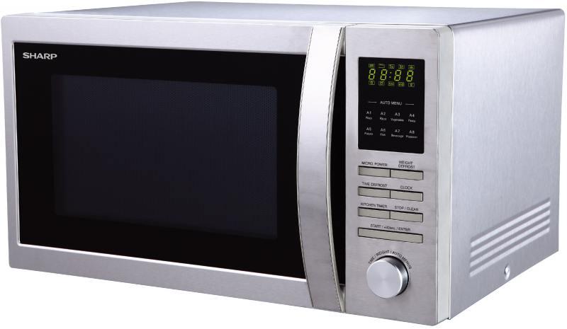 Микроволновая печь Sharp R-3495ST 900 Вт серебристый микроволновая печь sharp r3852rk