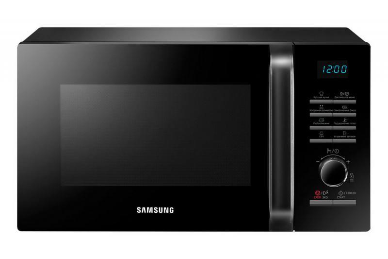 Микроволновая печь Samsung MS23H3115QK 800 Вт чёрный