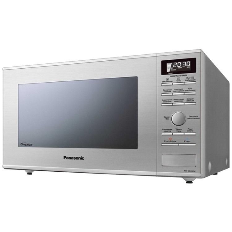 Микроволновая печь Panasonic NN-GD692MZPE 1000 Вт серебристый микроволновая печь panasonic nn gt352wzte 800 вт белый