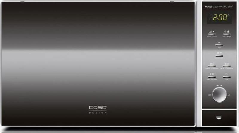 Микроволновая печь CASO MCG 25 Ceramic Chef 900 Вт серебристый микроволновая печь свч caso hcmg 25