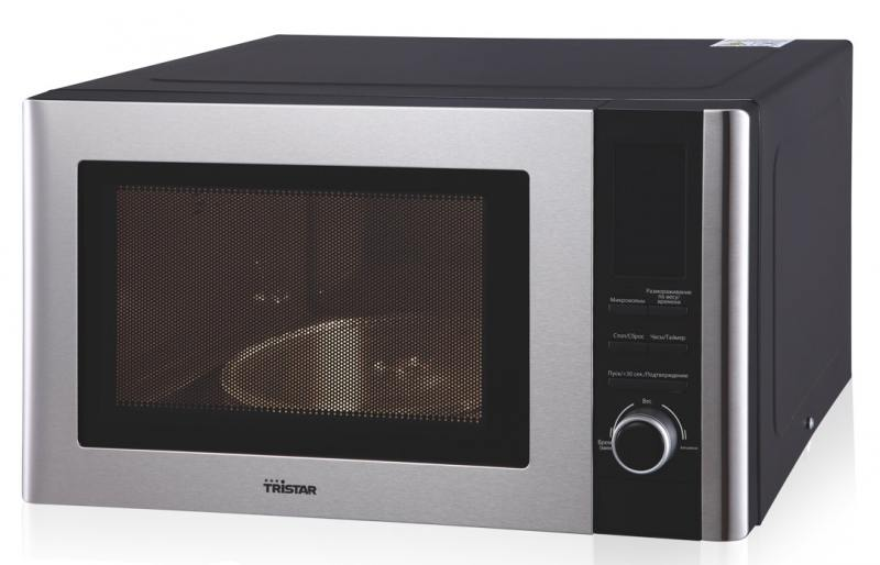 Микроволновая печь Tristar MW-3406 800 Вт чёрный микроволновая печь sharp r 6000rw 800 вт белый чёрный