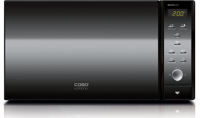 все цены на Микроволновая печь CASO MCG 30 chef black 900 Вт чёрный онлайн