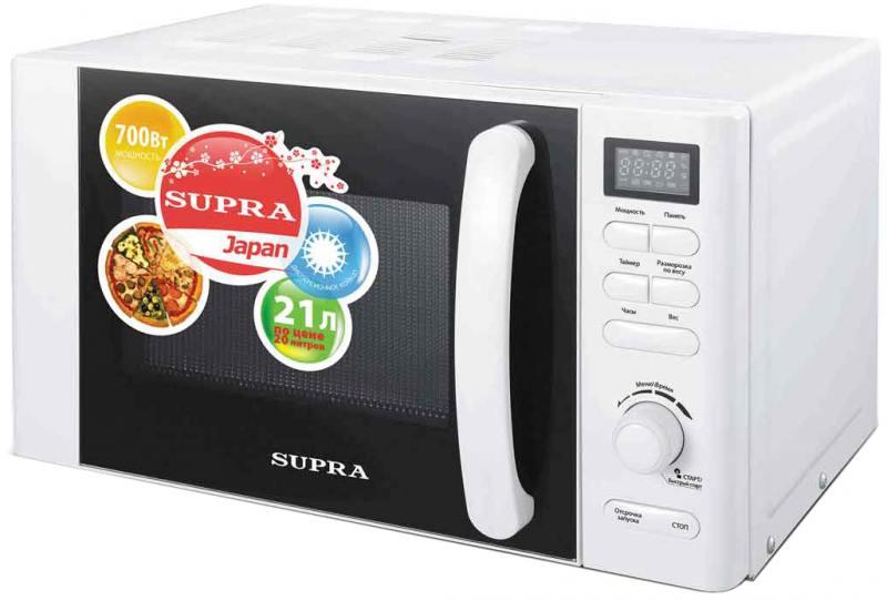 Микроволновая печь Supra MWS-2107TW 21 л белый