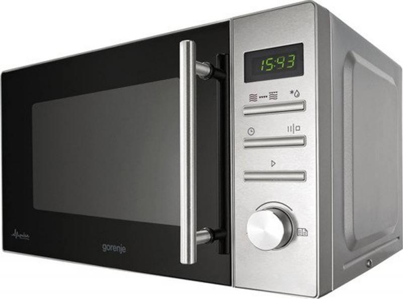 Картинка для Микроволновая печь Gorenje MMO20DGEII 800 Вт серебристый