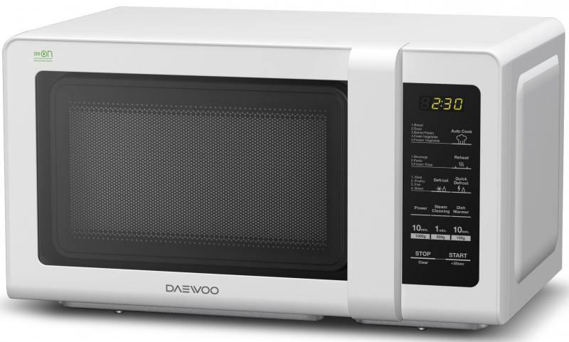 Микроволновая печь DAEWOO KOR-662BW 700 Вт белый микроволновая печь daewoo koc 9q4t