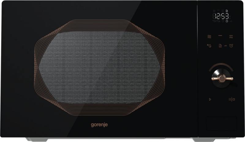 Микроволновая печь Gorenje MO25INB 900 Вт чёрный микроволновая печь gorenje mo23orab 900 вт чёрный