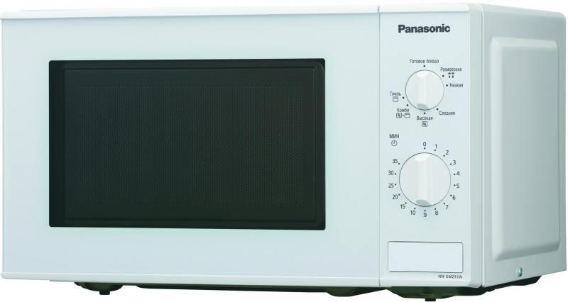 Микроволновая печь Panasonic NN-GM231WZTE 800 Вт белый микроволновая печь panasonic nn gd382szpe