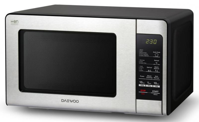 Микроволновая печь DAEWOO KOR-664K 700 Вт черный/серебристый daewoo kor 662bw белый