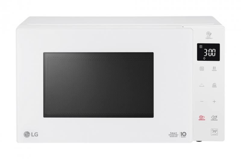 Микроволновая печь LG MW25W35GIH 1000 Вт белый свч lg mb65w95gih 1000 вт белый