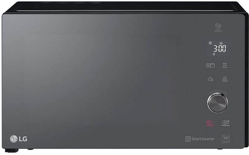 Микроволновая печь LG MB65W65DIR 1000 Вт чёрный lg mb65w95gih white свч печь с грилем