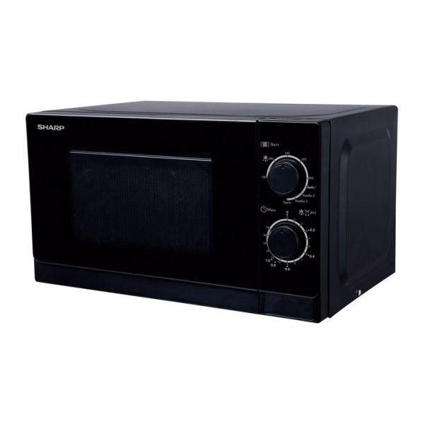 Микроволновая печь Sharp R-2000RK 800 Вт чёрный
