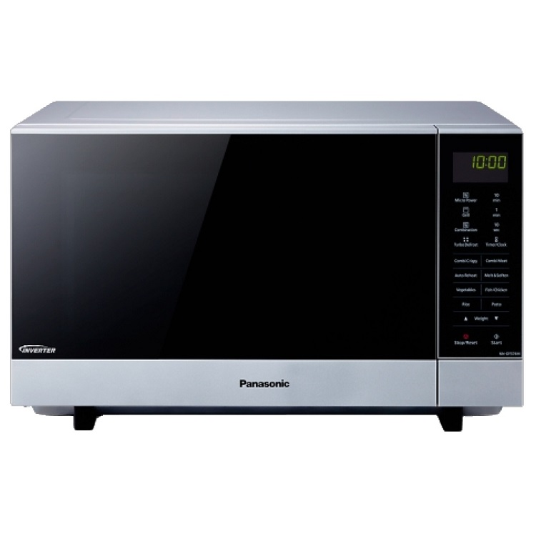 Микроволновая печь Panasonic NN-GF574MZPE 27л 1000Вт серебристый микроволновая печь panasonic nn sm221wzpe 700 вт белый